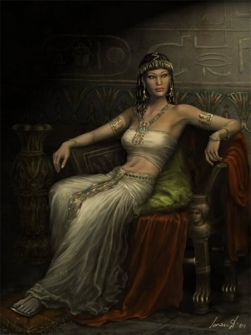 Cleopatra The last Ptolemaic ruler of Egypt. Cleopatra sought to defend Egypt from the expanding Roman Empire. In doing so she formed relationships with two of Rome's most powerful leaders Marc Anthony and Julius Caesar.