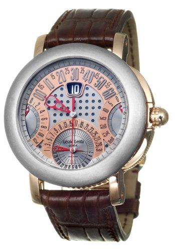 Gerald Genta Arena Chrono Quattro Mens Automatic Watch ABC Y 55 395 CB BD