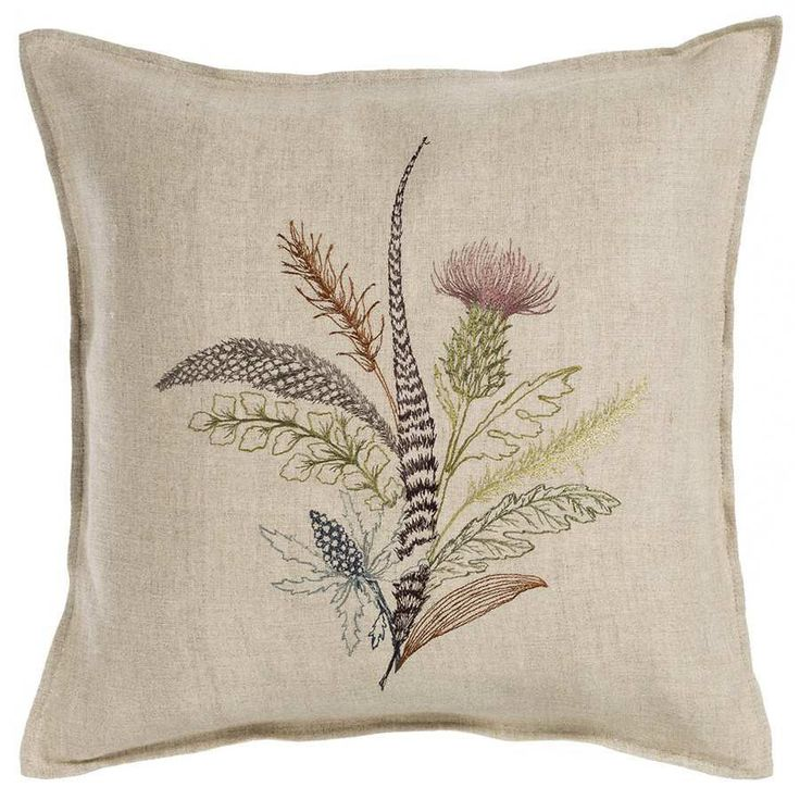 "Thistle Pillow 16""x16"" #16""-x-16"" #All-Products #pillow"