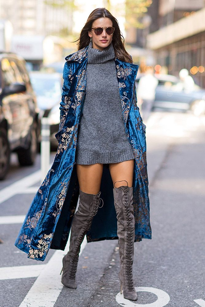 The Victoria's Secret Fashion Show casting call was outfit inspo heaven. See what the Angel models wore off-duty in our street style roundup.