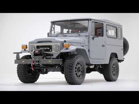 The FJ Company is the premier restorer of Toyota FJ Land Cruisers