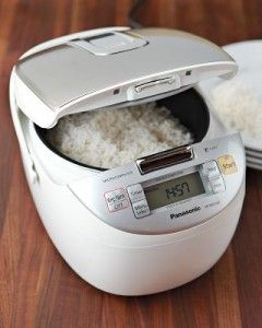 Rice Cooker - This article rates what the author feels are the five best rice cookers.