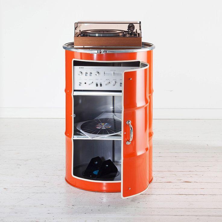 die besten 17 ideen zu lfass auf pinterest diy lfass. Black Bedroom Furniture Sets. Home Design Ideas