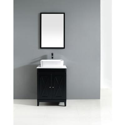 Home decorators kaysen 24 inch vanity kaysen24vb for Miroir home depot