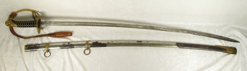 Antique 1880 Springfield Armory M1872 Cavalry Officer Sword Saber 2nd Variant 103| eBay, and in our store, $1200