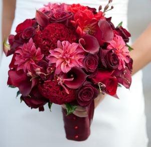 red reception wedding flowers wedding decor wedding flower centerpiece wedding flower arrangement
