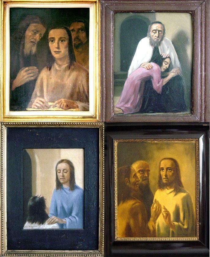 The Meegeren website - ?Fake? - Here are four fakes after Van Meegeren: the forger forged! www.meegeren.net