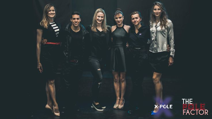 Judges at The Pole Factor 2015 in Cape Town. Image courtesy of Lindsey Appolis
