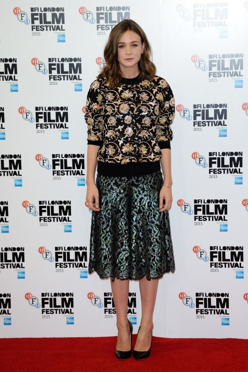 Carey Mulligan - 'Suffragette' photocall during the...