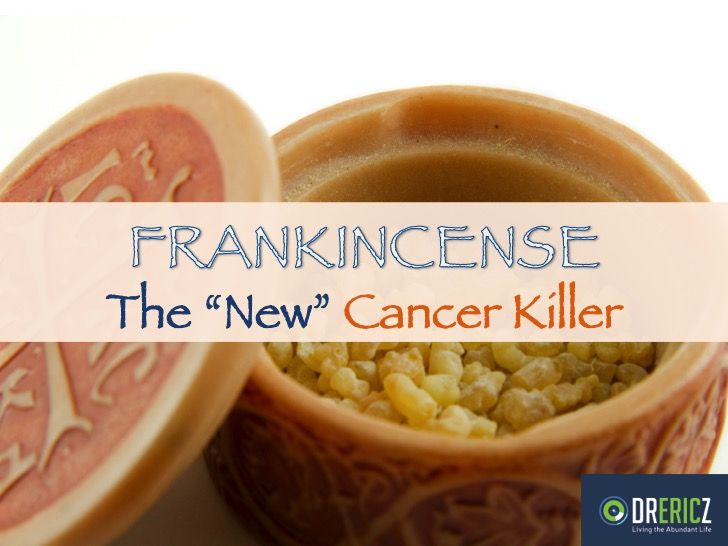 •• Research has linked Biblical Frankincense Essential Oil to AMAZING, UNBELIEVABLE health properties. Including Brain Cancer and Cancer healings. Article by Dr. Eric Z.