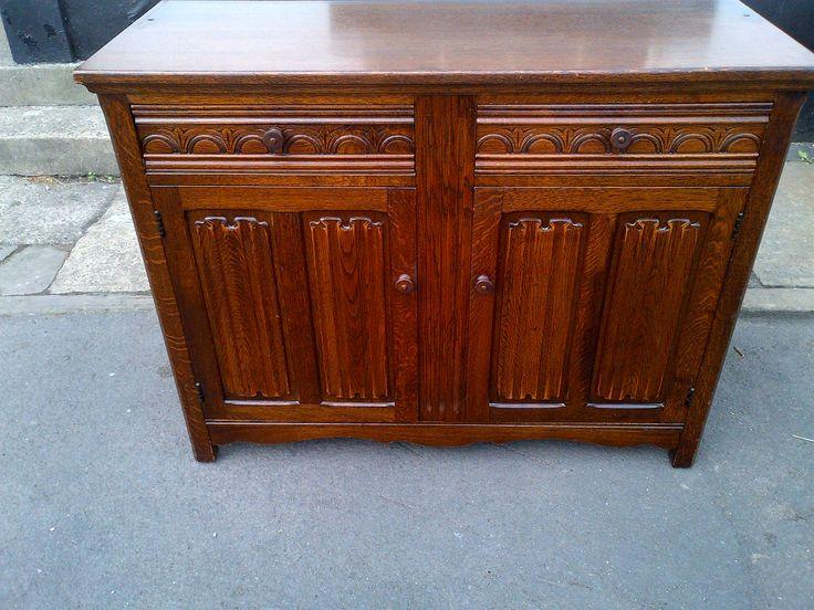 Old Charm Dresser (1) Base Solid Oak