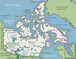 nunavut population map