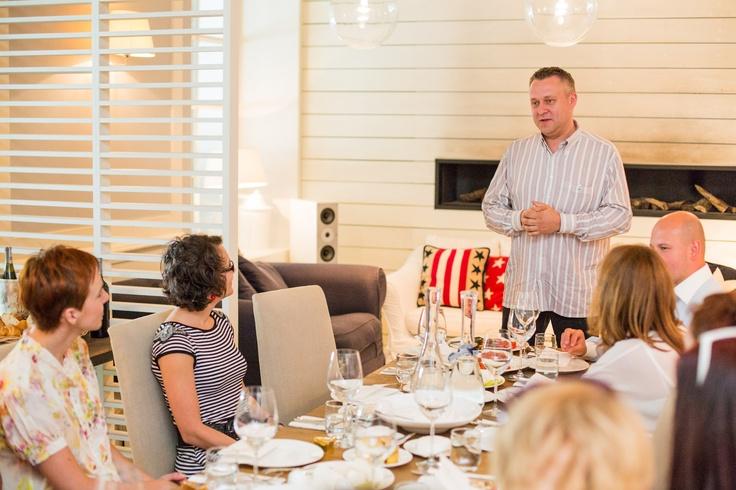 Gościem specjalnym spotkania był ambasador marki Merci Chef ! Adam Chrząstowski