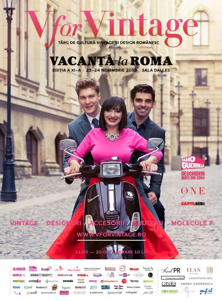 V for Vintage Fair - Vacanta la Roma 2013 Edition