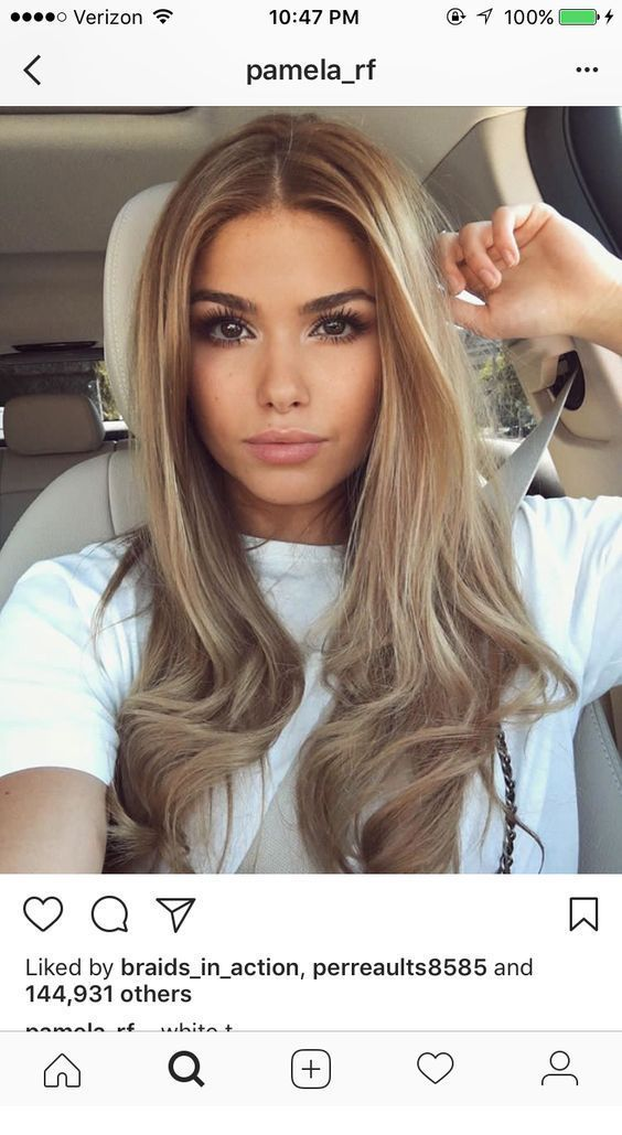 The natural makeup really compliments the hair tones. – Miladies.net