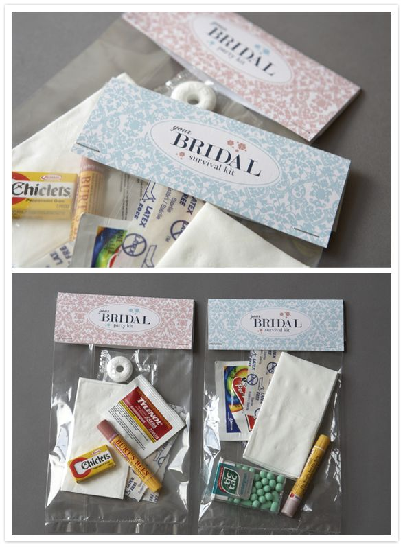Survival Wedding Kit :)