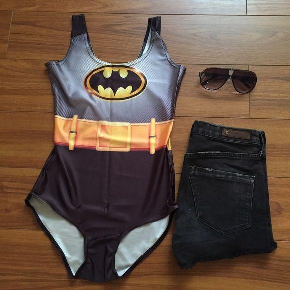 batman bathing suit - Halloween Swimsuit