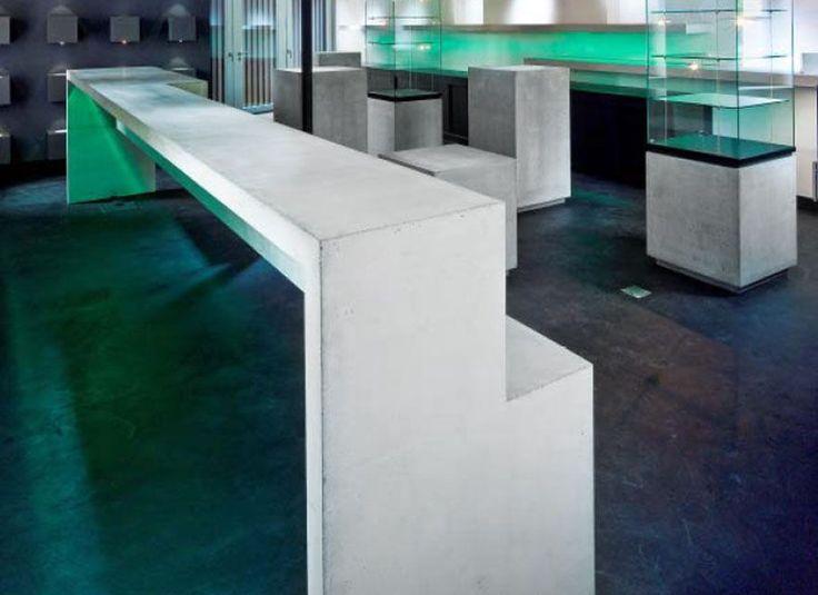 Ausstellungselemente, Genf Beton