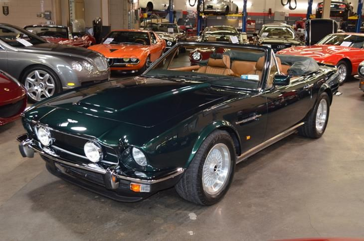 Classic 1980 Aston Martin V8 Volante Prince Of Wales E For Sale Classic Sports Car Ref New York Classic Sports Cars Car Aston Martin