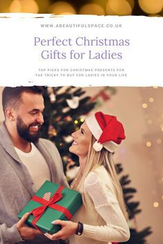 Christmas gift ideas for women in 2017 - lovely and unusual ideas for christmas presents for tricky to buy for ladies. Christmas gift guide for women in 2017