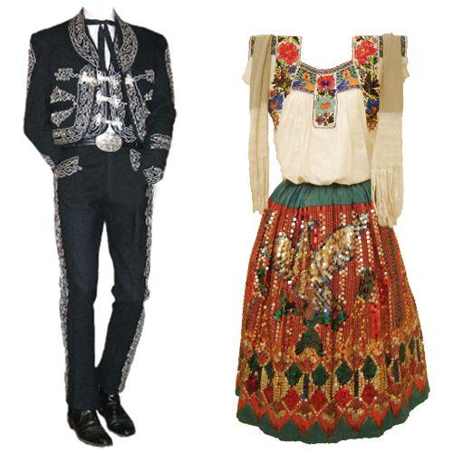 Charro and China Poblana Garments