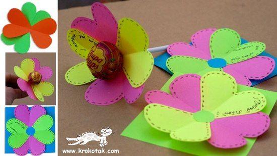 Chupachups de flores