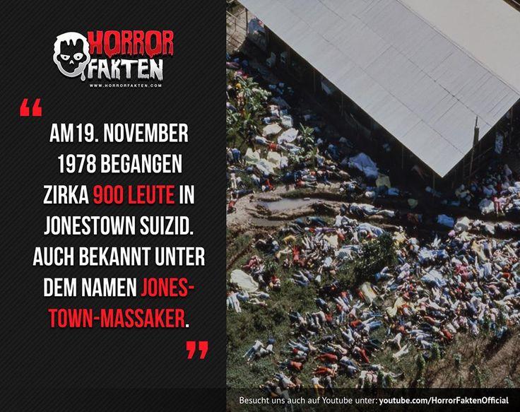 Der grausame Massenselbstmord von Jonestown