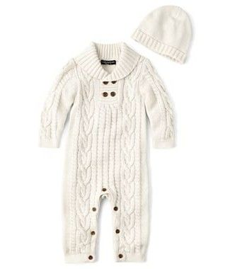 My new favorite baby boy clothing line!! Can't wait to have Baby Bell cuddled up in this sweet piece while we visit family this winter in Washington!!! Wendy Bellissimo™ 2-pc. Coverall Set – Boys newborn-9m