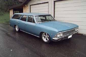 66 Chevelle Wagon, Mom's 66 Malibu & 69 Satellite Sport Woody, Fave