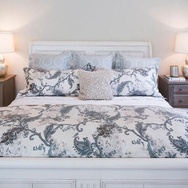 paisley duvet ethan allen  bed linen design ikea