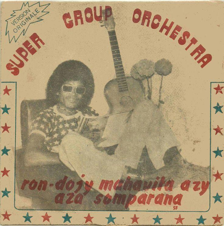 Zix Rolland & Super Group Orchestra - Ron-Dojy Mahavita Azy -   - #Kaiamba K 82149 (1982)  Merci à Sully Fontaine (FB) #Madagascar #45t