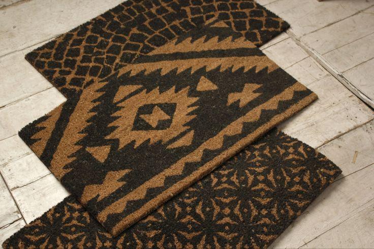 Aztec Cobblestone Doormats
