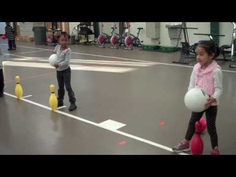 Pinball (PE game at West Newton Elementary) - YouTube