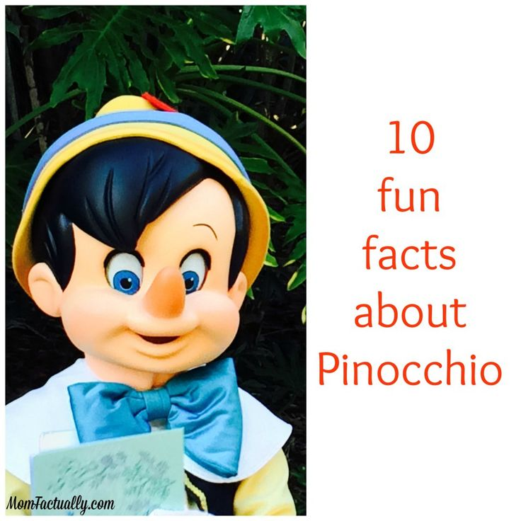 Pinocchio is a pretty fascinating Disney character - check out these fun facts about the movie about him and his quest to become a real boy
