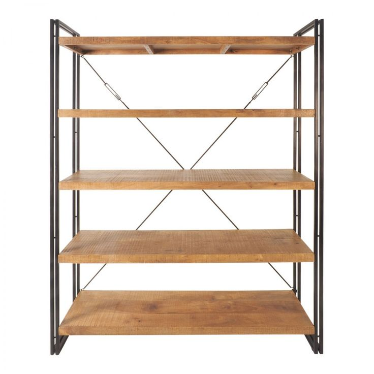 Fulham Shelving Unit 2000x1600mm - Bookcases & Shelving - Office &…