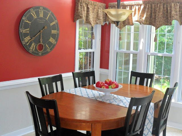 Red Dining Room Curtains 18 best red dinning rooms images on pinterest | red dining rooms