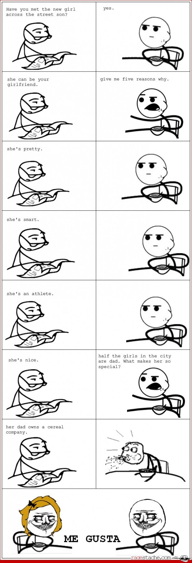 cereal guy and girl