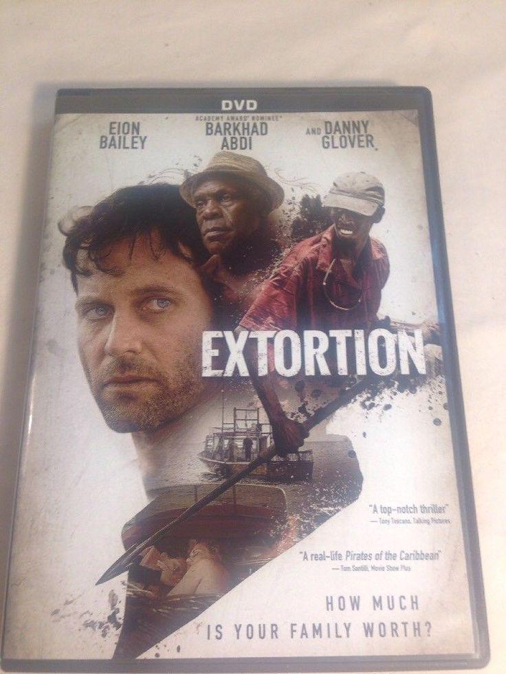 Extortion DVD Eion Bailey, Bethany Joy Lenz, Barkhad Abdi, Danny Glover, Maurici
