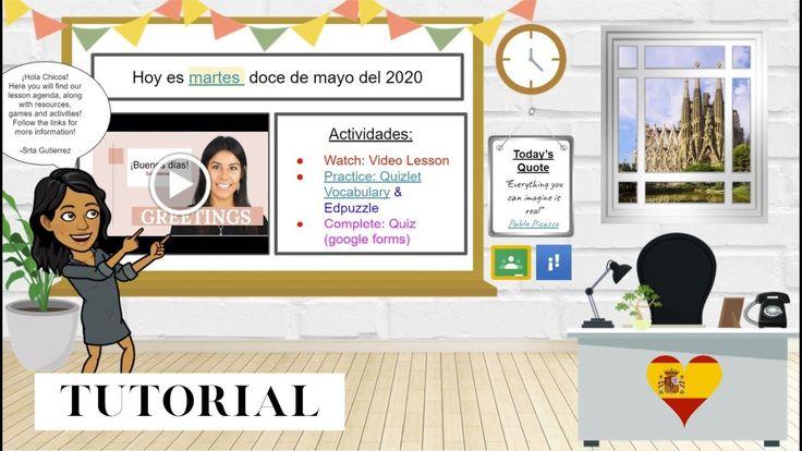Bitmoji Virtual Classroom Tutorial Using Google Slides