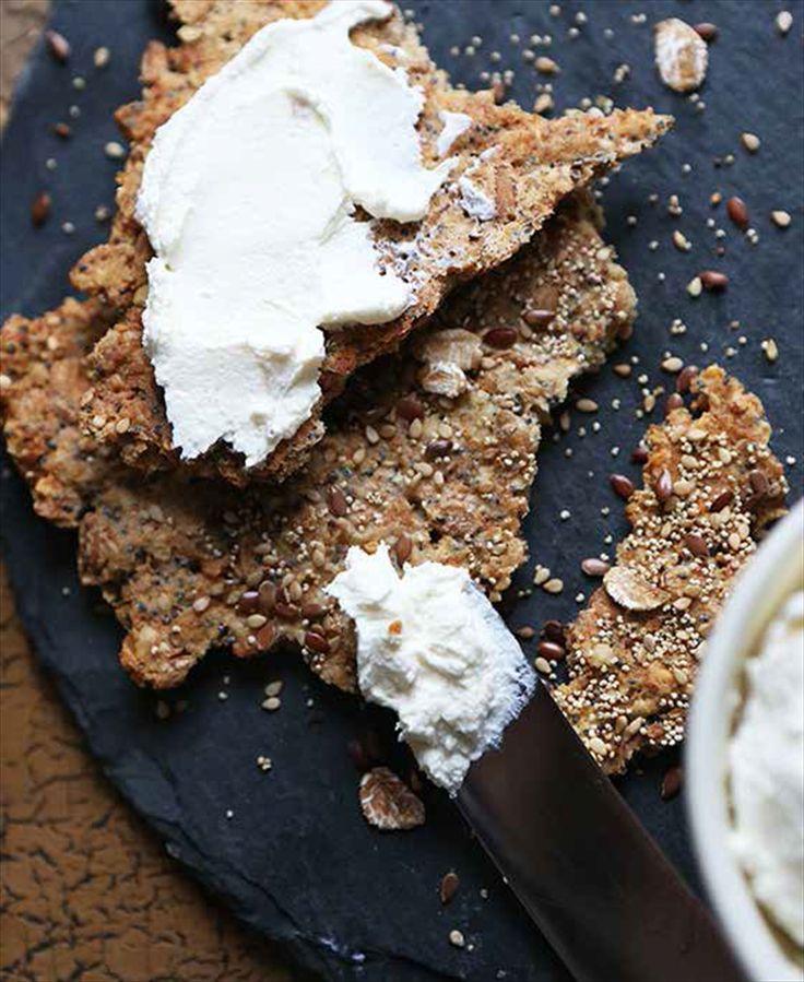 Multigrain spelt crispbread recipe from Scandinavian Baking by Trine Hahnemann | Cooked