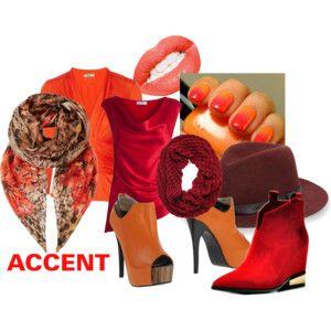 """""""Accenten in warme kleuren"""" by antoinette-styling on Polyvore"""