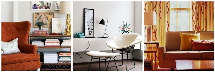 Mid-Century decorating ideas for your apartment. (Home Sweet Apt)