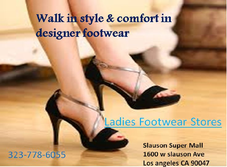 Are you all set to buy new pair of shoes or sandals? If yes, go check out the latest collection at the best ladies footwear stores. The colors, styles and brands offered will surprise you. The range available is from average to quite expensive. Buy your favorite pair within your budget and walk comfortably wherever you want to go. https://goo.gl/L8tSCJ