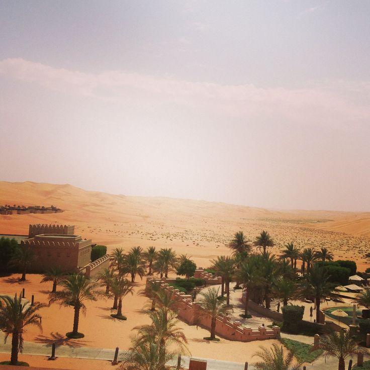 Qasr Al Sarab desert resort, Abu Dhabi, United Arab Emirates
