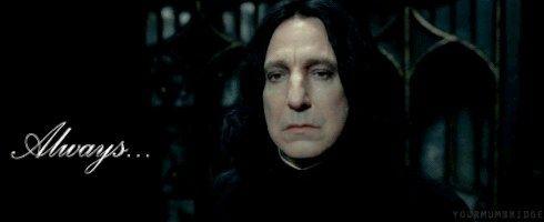 Não importa o quanto a J. K. Rowling tentou te enganar, no fundo, você SEMPRE soube de que lado o Snape estava. | 27 fatos sobre Harry Potter que são totalmente verdadeiros