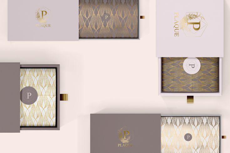 Csomagolás design egy ékszer márkának.