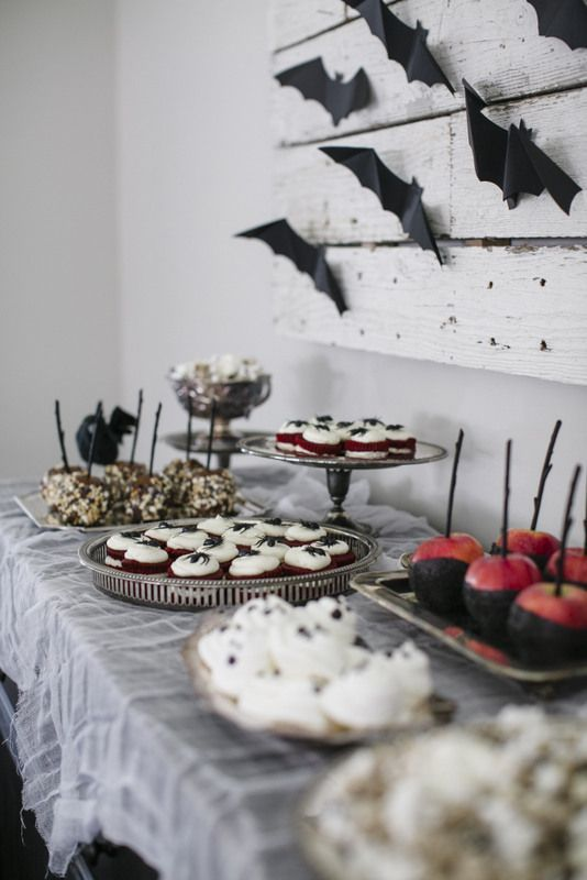 how to create the ultimate halloween treat table halloween dessert tables halloween entertaining tips