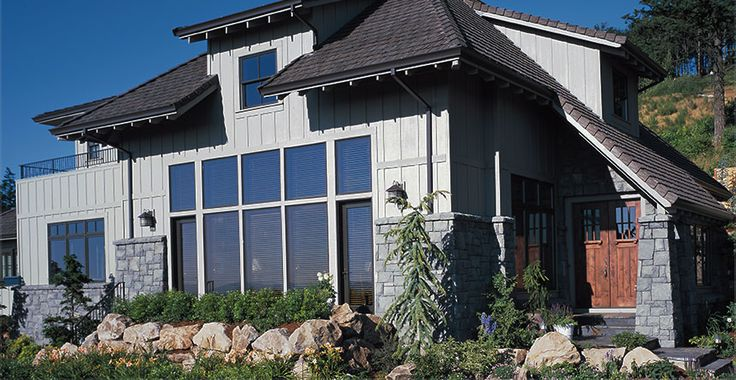 James Hardie - Products | HardiePanel Vertical Siding