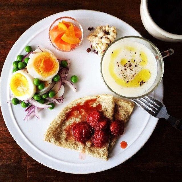 .@keiyamazaki | Today's breakfast. Turnip and Onion soup. カブと新玉ねぎのポタージュ、ニンジ... | Webstagram