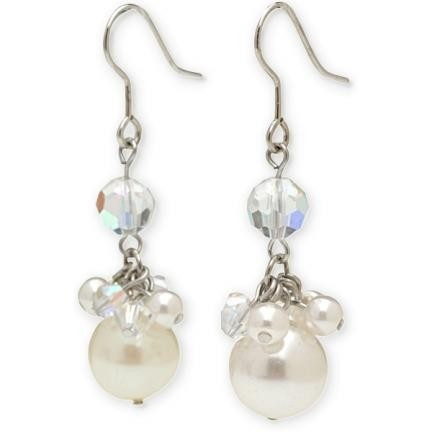 Anna Bellagio - Jessica Pearl and Crystal Earrings, $42.00 (http://www.annabellagio.com/jessica-pearl-and-crystal-earrings/)